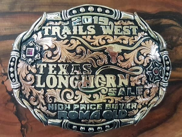 2019 trails west high price buyer buckle