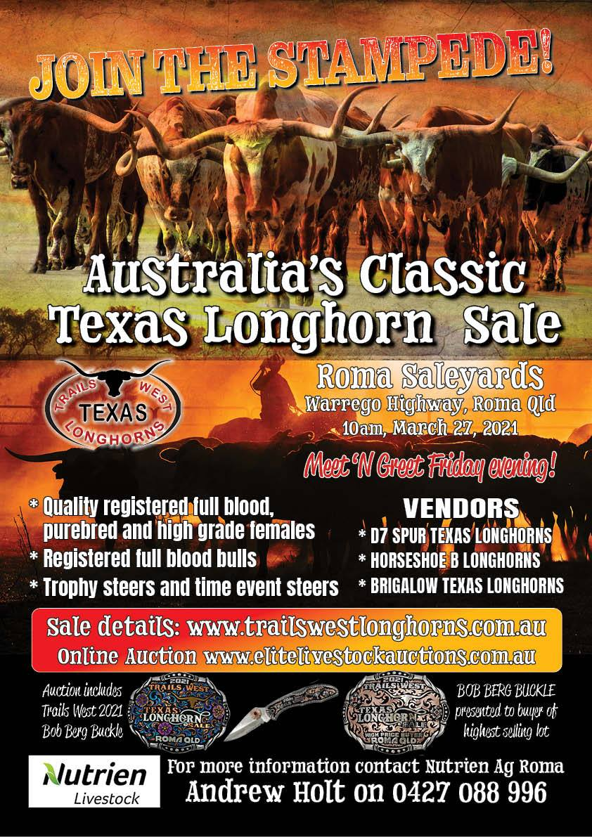 2021 Trails West sale poster
